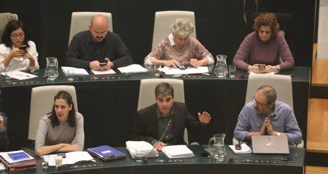 Jorge García Castaño en el Pleno