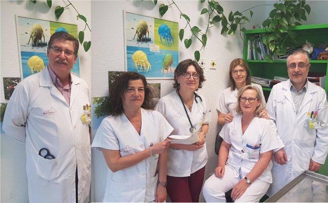 Unidad asma grave Hospital Reina Sofía