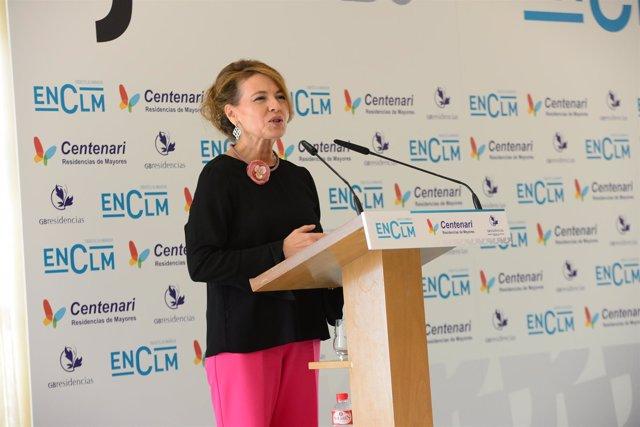Consejera de Bienestar Social de C-LM, Aurelia Sánchez