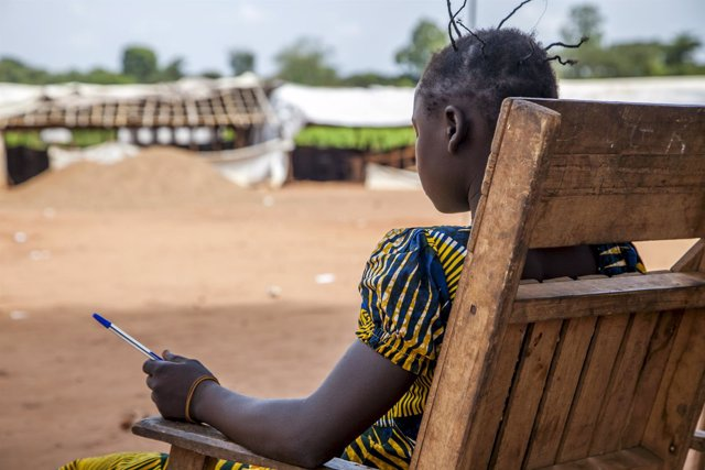 Antiguo niño soldado en República Centroafricana
