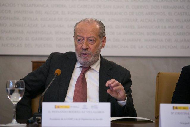 El presidente de la FAMP, Fernando Rodríguez Villalobos (PSOE)