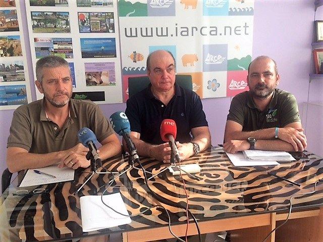 Javier Ceruti, Carlos García y Felioe González