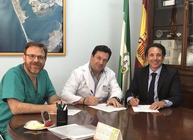 Nota Y Foto Acuerdo Salud Y Hospital Quirónsalud Cg
