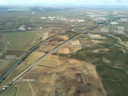 OHL construirá un tramo de la línea de alta velocidad entre Zaragoza y Pamplona