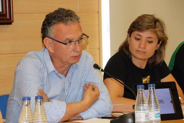 José Luis Quitana y Conchi Bellorín