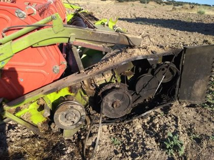 Unas 1.110 hectáreas e superficie agrícola y forestal han ardido en Extremadura desde el pasado 1 de junio