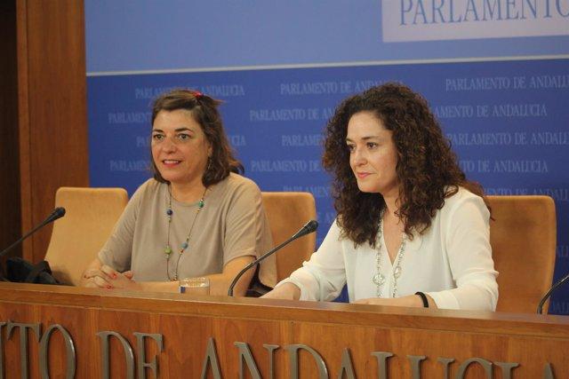 Elena Cortés e Inmaculada Nieto.