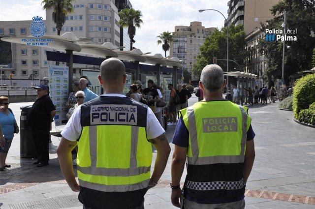Detenidas alrededor de 15 personas por hurtos en Palma este verano