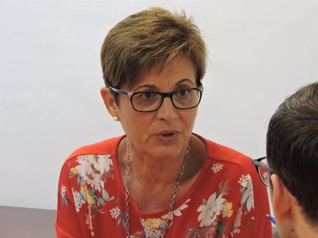 Adriana Valverde, portavoz del PSOE en el Ayuntamiento de Almería