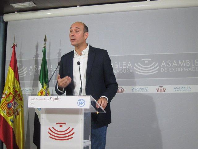 El diputado del PP José Ángel Sánchez Juliá