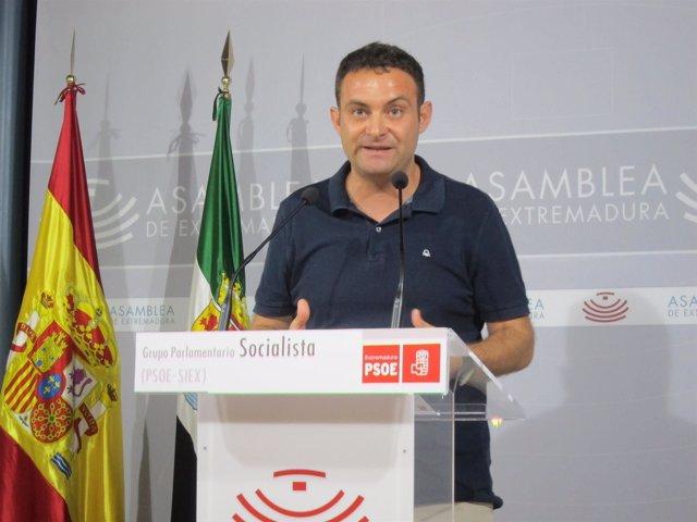 El diputado del PSOE Jorge Amado