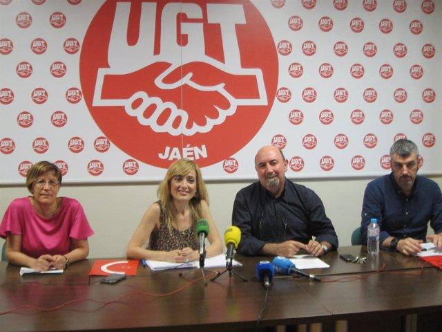 Carmen Castilla durante la rueda de prensa