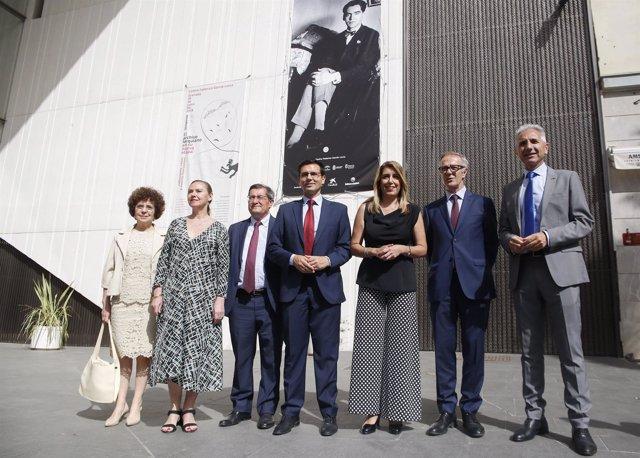 La presidenta de la Junta y el ministro de Cultura en el Centro Lorca