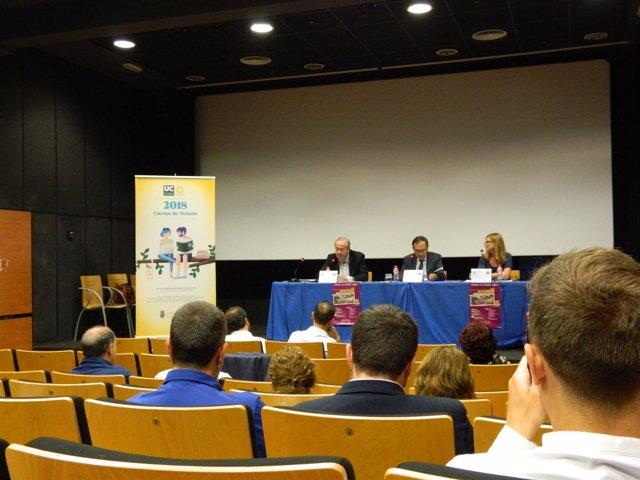 Inauguración del curso de Urbanismo en Torrelavega