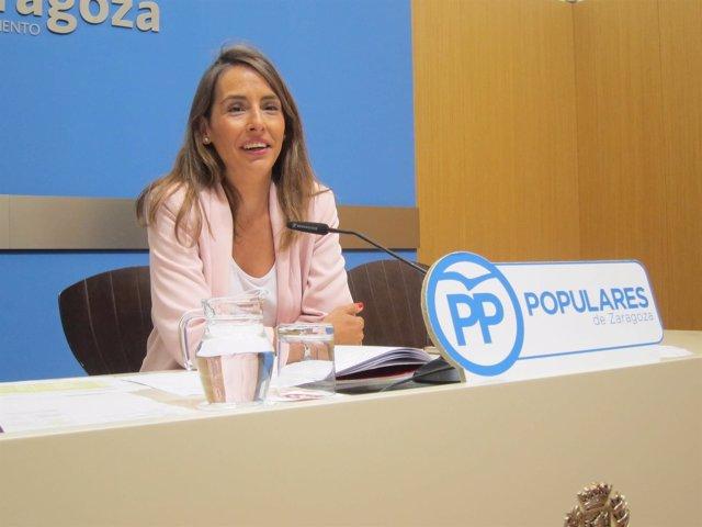 María Navarro, concejal del PP en el Ayuntamiento de Zaragoza
