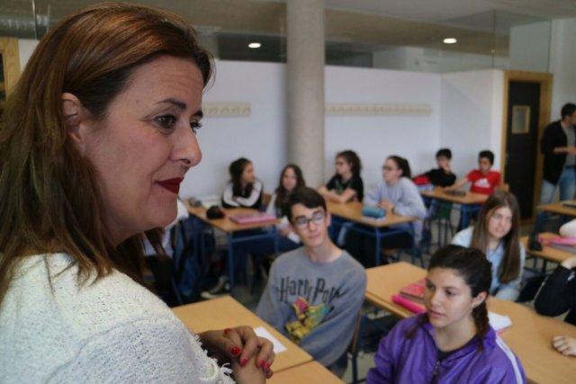 La consejera de Educación de Andalucía, Sonia Gaya