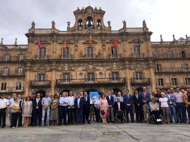 Homaje a Miguel Ángel Blanco en Salamanca 11-7-2018