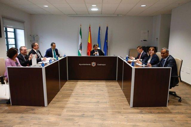 Consejo de Gobierno en Castropol
