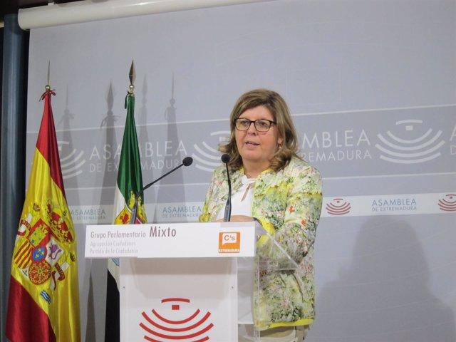La diputada de Cs María Victoria Domínguez