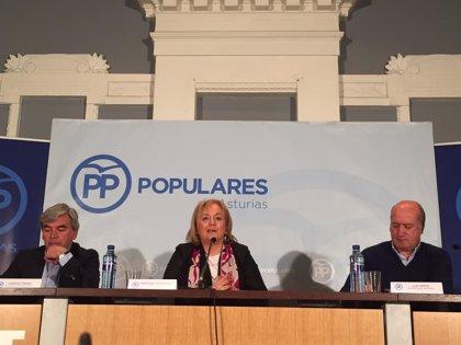 """Mercedes Fernández (PP) afirma que la """"ecología de salón"""" de la Ministra Teresa Ribera """"no nos viene bien en Asturias"""""""