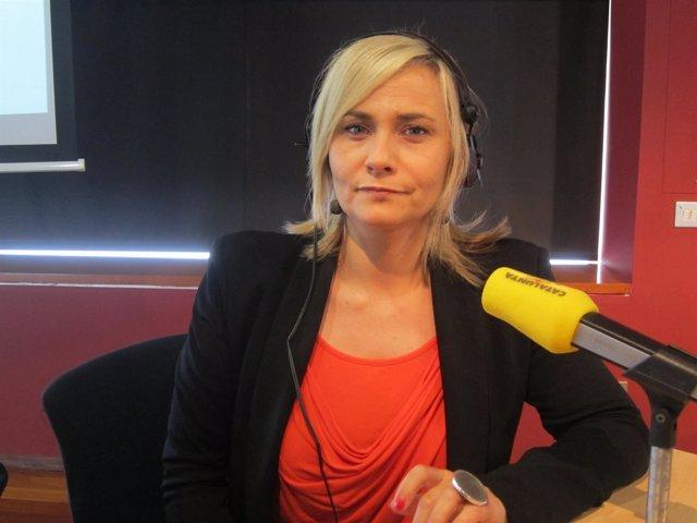 La periodista Mònica Terribas