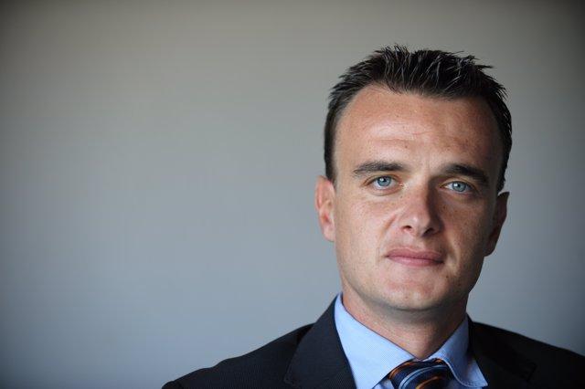 El director general de F. Iniciatives, Iván Ruiz