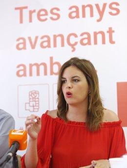Sandra Gómez en una imagen reciente