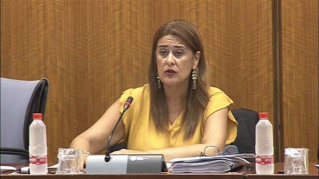 Sonia Gaya en la Comisión de Educación del Parlamento