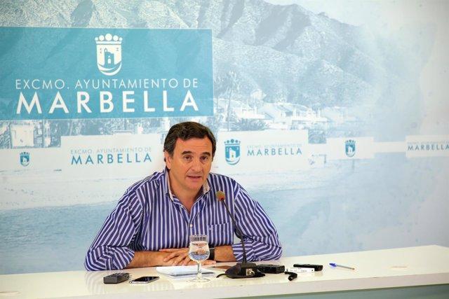 Felix Romero concejal marbella y portavoz PP