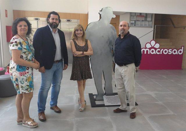 Visita de UGT a Macrosad