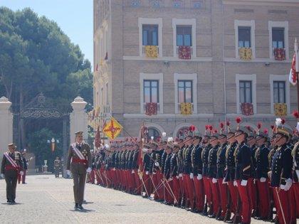 El Rey preside la entrega de Reales Despachos a los 286 tenientes del Ejército de Tierra y la Guardia Civil