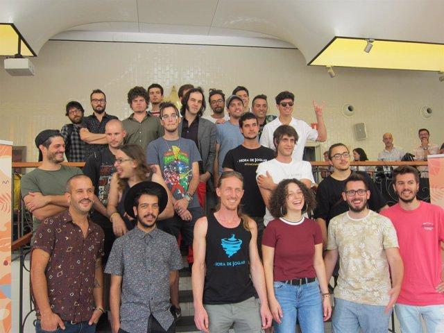 Artistas participantes en el festival Acústica 2018