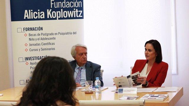 Leoncio Areal y María Concepción Guisasola, de la Fundación Alicia Koplowitz