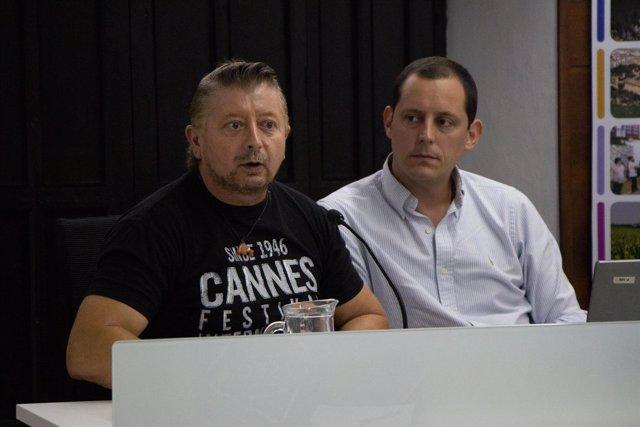 Kike Mesa y Olmo Figueredo en los cursos de verano de la UPO