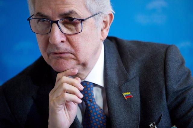 El opositor venezolano Antonio Ledezma