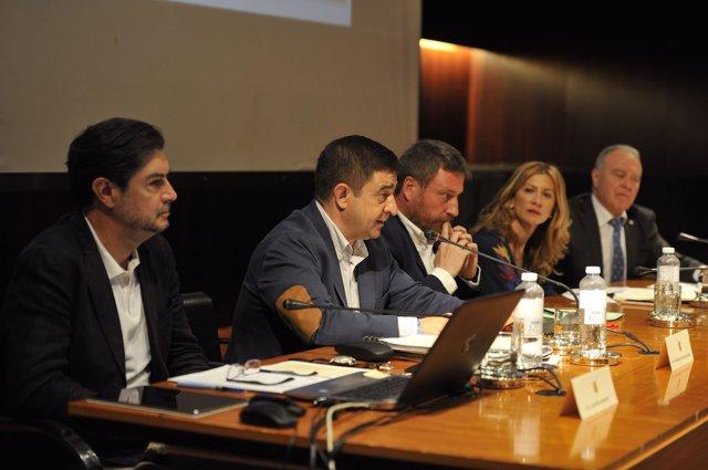 Intervención de Francisco Reyes en Huesca