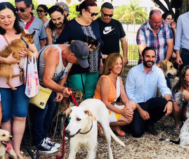Parque canino Huelin PSOE