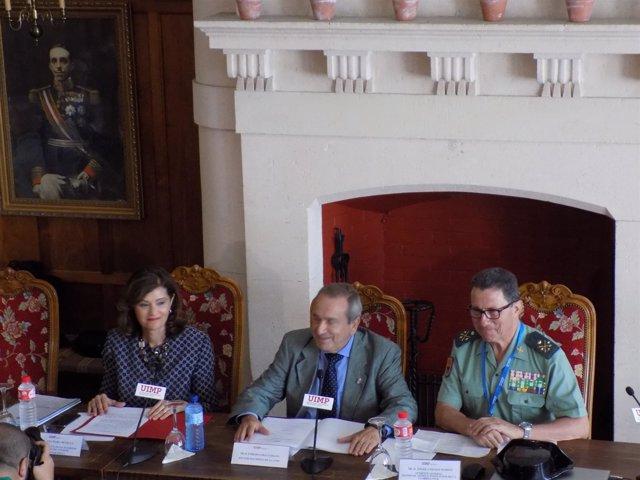 Secretaria de Estado de Seguridad, Ana Botella, en un curso sobre ciberseguridad