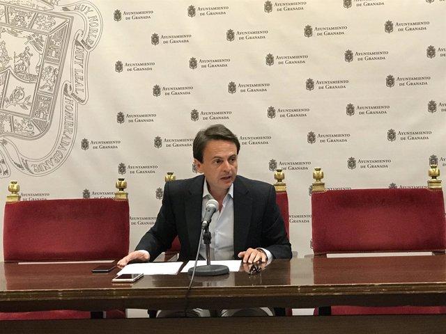 El concejal del PP Juan Antonio Fuentes