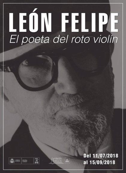 La Biblioteca Nacional de España homenajea al poeta zamorano León Felipe