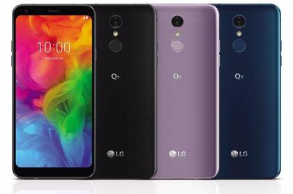LG Q7, el 'smartphone' de gama media de la marca, ya está disponible en España