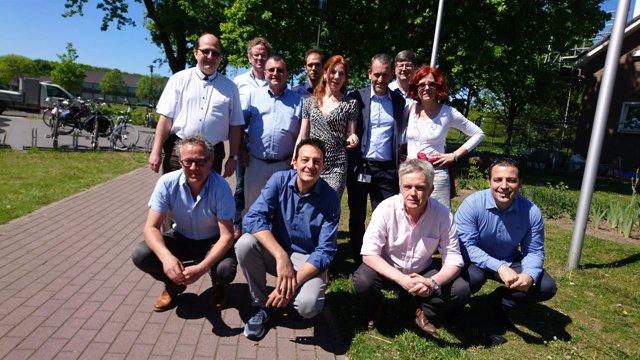 Integrantes del proyecto europeo SUSPUFA