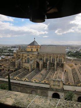 Las cubiertas de la Mezquita-Catedral vistas desde su torre