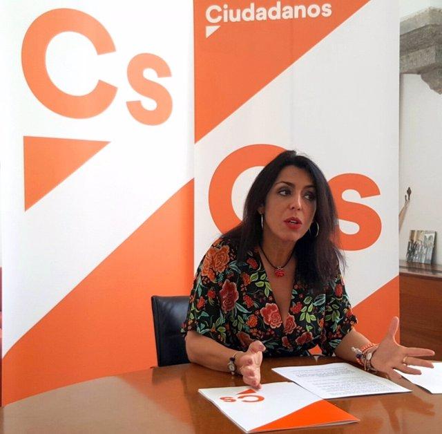Marta Bosquet, parlamentaria de Cs Andalucía