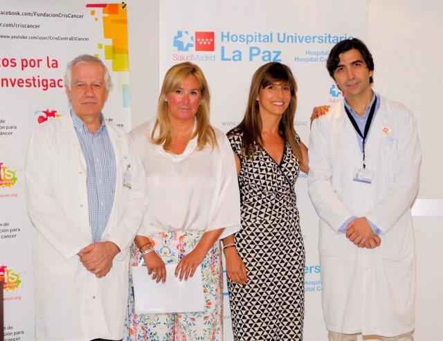 De izquierda a derecha: Javier Cobas, Carmen Varela, Lola Manterola y Antonio