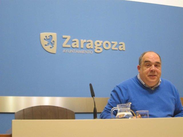 El concejal del PSOE, Roberto Fernández
