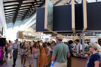 El mercado gourmet San Luis en Estepona recibe más de 4.000 visitas en sus primeros días de apertura