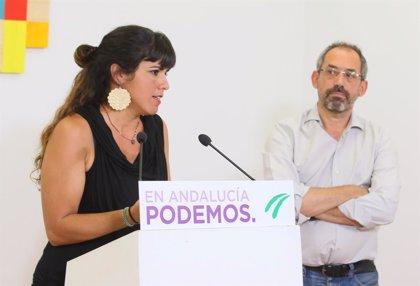 """Teresa Rodríguez cree que sería un """"nefasto precedente"""" que fuera condenada por sus palabras sobre Utrera Molina"""