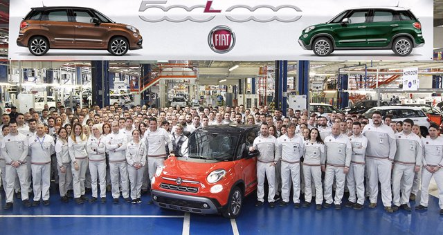 Producción del Fiat 500L en Kragujevac (Serbia)