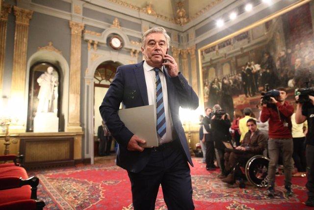José Manuel Barreiro en el Senado
